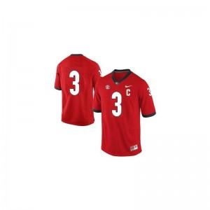 Todd Gurley For Men Jerseys Men Medium UGA Limited #3 Red
