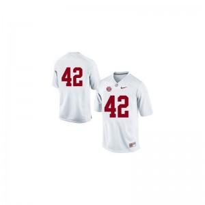 Eddie Lacy Jerseys University of Alabama #42 White Limited For Men Jerseys