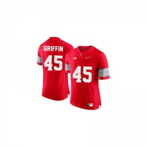 Mens Limited Ohio State Jerseys Archie Griffin #45 Red Diamond Quest Patch Jerseys