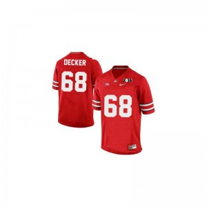 Taylor Decker OSU Jerseys For Men Limited #68 Red Diamond Quest 2015 Patch