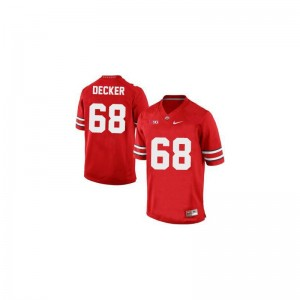 Taylor Decker Mens Jerseys Mens Large OSU Buckeyes Limited #68 Red