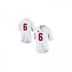 Alabama Crimson Tide Blake Sims Mens Limited Jerseys 2XL - #6 White