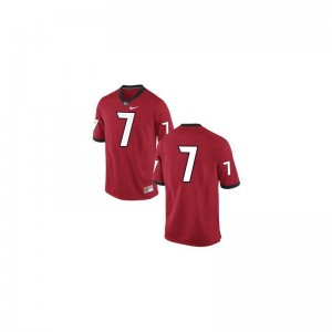 Matthew Stafford Men Jersey Limited University of Georgia - #7 Red