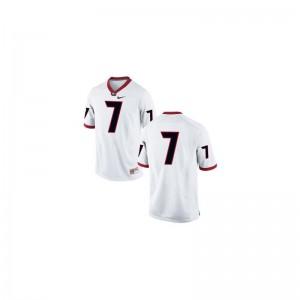 UGA Bulldogs Matthew Stafford Jersey #7 White Men Limited