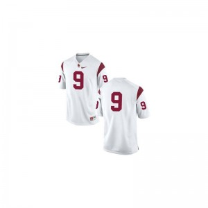 USC JuJu Smith-Schuster Jersey Small #9 White Men Limited