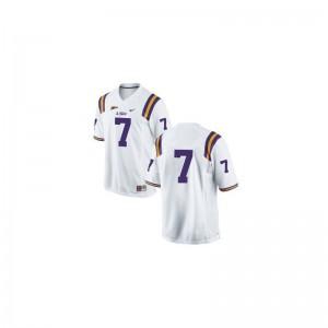 Louisiana State Tigers Bert Jones Jersey Men XL Men #White Limited
