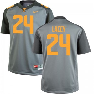 Michael Lacey Kids Jersey Youth XL UT Gray Limited