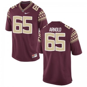FSU Mike Arnold Jerseys Men Small For Men Garnet Limited