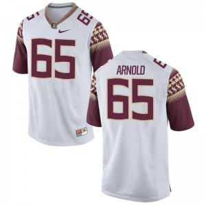 Mike Arnold Florida State Seminoles Youth(Kids) Limited Jersey Large - White
