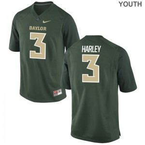 Youth Mike Harley Jersey Green Limited University of Miami Jersey