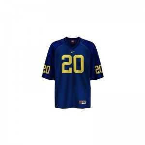 Mike Hart Jerseys XXL Mens Michigan Wolverines Blue Limited
