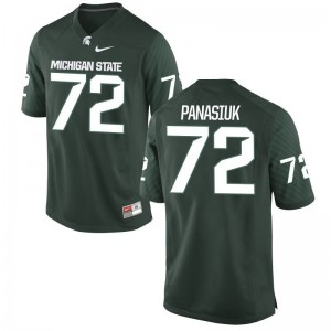 Mens Mike Panasiuk Jersey Green Limited Michigan State Jersey