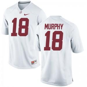 Montana Murphy Alabama Jerseys Mens XXL Men Limited White