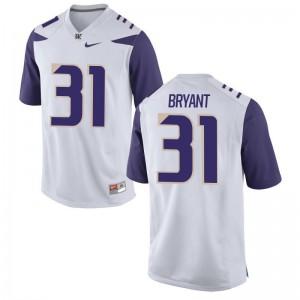 University of Washington Myles Bryant Jerseys Men XXL Limited Men - White
