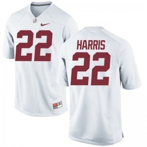 Najee Harris Bama Jerseys Men XXXL For Men White Limited