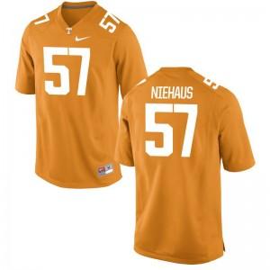 Nathan Niehaus Vols Jerseys Men Medium Mens Limited - Orange