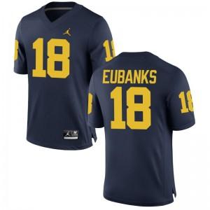 Nick Eubanks Michigan Wolverines Jersey Men Medium For Men Limited Jersey Men Medium - Jordan Navy