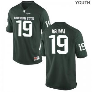 MSU Nick Krumm Youth Limited University Jersey Green