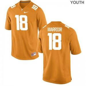 Vols Youth(Kids) Orange Limited Nigel Warrior Jerseys S-XL