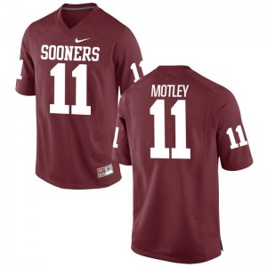 Parnell Motley Oklahoma Jersey XXX Large For Men Crimson Limited