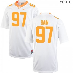 Paul Bain Youth Jersey Small Limited Vols - White