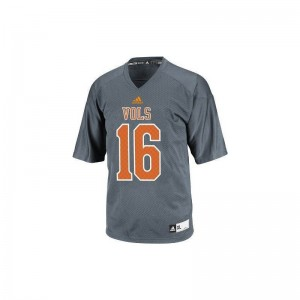 Peyton Manning Tennessee Volunteers Men Jersey Gray Alumni Limited Jersey