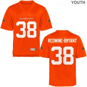 Philip Redwine-Bryant For Kids Jerseys Youth Small OSU Orange Limited