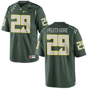 Limited Oregon Ducks Pou Peleti-Gore For Men Jersey XXX Large - Green