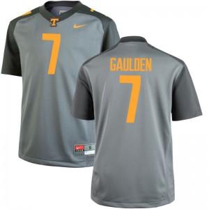UT Gray For Men Limited Rashaan Gaulden Jersey 3XL