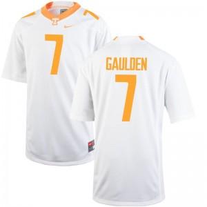 For Men Rashaan Gaulden Jersey Tennessee Vols White Limited