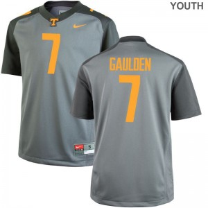 UT Youth Limited Rashaan Gaulden Jerseys Youth Small - Gray