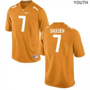 Rashaan Gaulden Tennessee Volunteers Jerseys Youth Medium Orange Limited For Kids