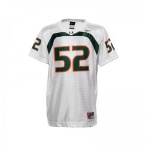 Limited White Ray Lewis Jersey X Large For Kids Miami