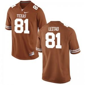 UT Reese Leitao Limited For Men Official Jerseys - Orange
