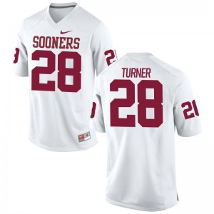 Reggie Turner Mens White Jerseys Mens XXL Limited Oklahoma Sooners