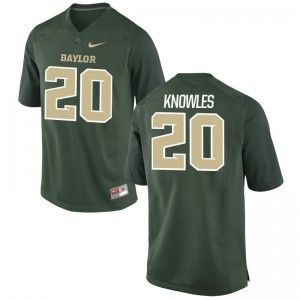 Men Robert Knowles Jersey XX Large Miami Hurricanes Limited Green