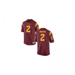 USC Jerseys Youth Small of Robert Woods Youth(Kids) Limited - Cardinal