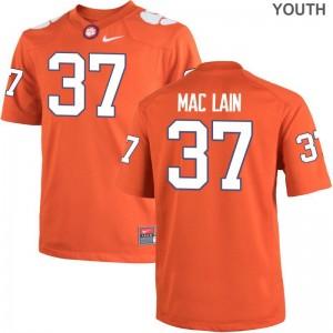 Ryan Mac Lain Kids Jerseys Youth Medium Limited Clemson National Championship - Orange