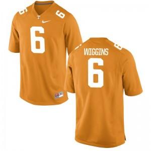 Shaq Wiggins Tennessee Jerseys Mens Limited Orange College