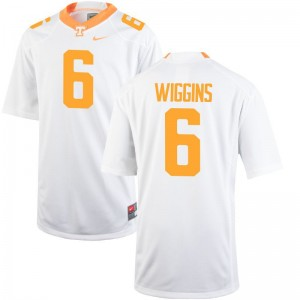Tennessee Volunteers Shaq Wiggins Jersey X Large White Limited For Men