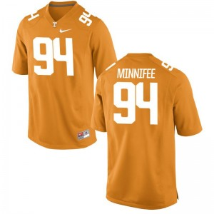 TJ Minnifee Vols Jersey Men Small Limited Orange Men
