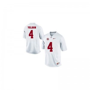 T.J. Yeldon Alabama Jersey Youth X Large Limited Youth Jersey Youth X Large - White