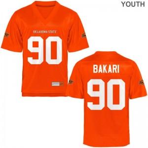 Oklahoma State Taaj Bakari Jerseys X Large Limited For Kids Orange