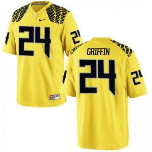 Taj Griffin Oregon Jerseys Limited Men - Gold