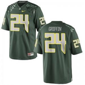 Taj Griffin For Men Jerseys 2XL UO Limited - Green