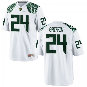 Limited White Taj Griffin Jersey Mens XL Men UO