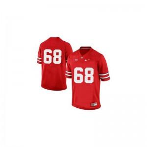 OSU Limited Men Red Taylor Decker Jersey X Large