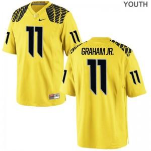 Ducks Thomas Graham Jr. Jerseys Official Youth Limited Gold Jerseys