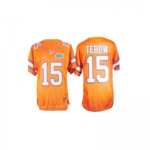 Florida Tim Tebow Jerseys S-XL Limited Orange For Kids