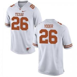 Tim Yoder Men Jersey XX Large UT Limited - White
